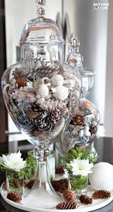 Apothecary Jars Decorating Ideas Clean Cozy Neutral Winter Decorating Ideas The Happy Housie 42
