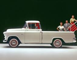 1955 Chevrolet Cameo Carrier - Photos - Chevy has been pumping out ...