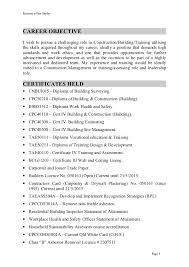 career objective sample   tomorrowworld coian butler resume march pd    career objective sample  career objective resume