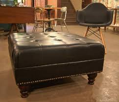 tufted leather ottoman coffee table coffee table grey ottoman storage box round tufted leather ottoman brown