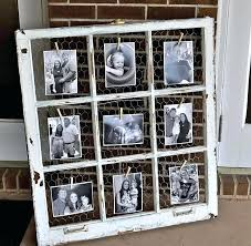 window frame picture frame an old window en wire and clothespins for displaying photos great for window frame