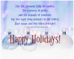 Holiday Greetings Quotes Gorgeous Holiday Greeting Card Quotes 48 Christmas Card Greeting Msg Merry