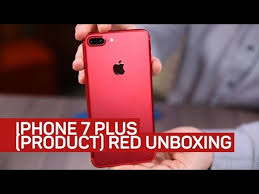 Red Checking Red Iphone 7 Plus Unboxing Checking Out The Red Of Product Red