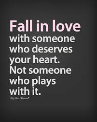 In Love Quotes Magnificent Fall In Love With Someone Who Deserves Your Heart Sayings With Images