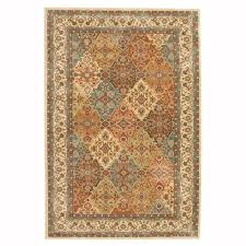 rug at home depot. home decorators collection persia almond buff 5 ft. x 8 area rug at depot