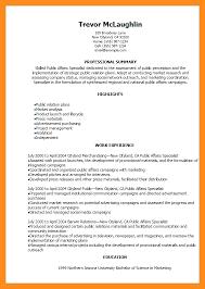 12 13 Public Relations Resume Objectives Lascazuelasphilly Com