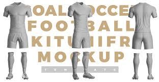 Goal Soccer Kit Template Sports Templates