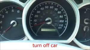 03 4runner Maintenance Light Reset How To Reset Oil Maintenance Light Toyota 4runner