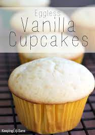 the best eggless vanilla cupcakes