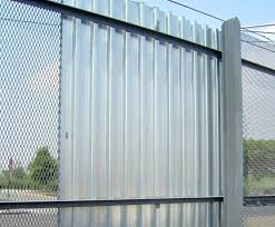 sheet metal fence sheet metal fence corrugated metal fence panels outdoor decorations steel privacy how to build a corrugated sheet metal fence panels