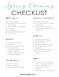 cleaning checklist printable spring cleaning checklist mom 4 real