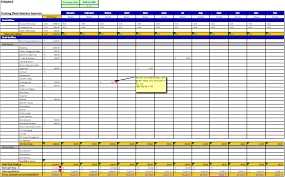 Financial Tracking Yearly Expense Tracking Spreadsheet Footwear