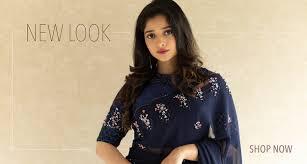 Kalamkari Churidar Neck Designs For Stitching Kavya Madhavans Online Shopping Website Boutiques In Kochi
