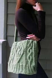 free knitting pattern for sweater bag