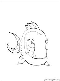 Kleurplaat Neptuna Monster High Gratis Kleurplaten