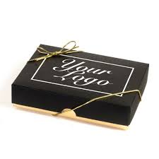 bespoke branded promotional 12 choc your logo personalised chocolate gift box