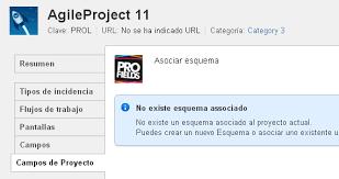 Esquema De Un Proyecto Asociar Esquemas A Proyectos Profields 2 5 X Español
