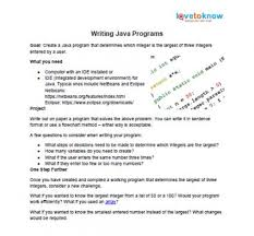 where to high school chemistry help lovetoknow project 1 programming java