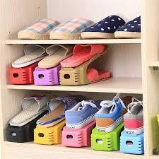 New Popular Shoe Racks Modern Double Cleaning Storage Shoes Rack Living  Room Convenient Shoebox Shoes Organizer