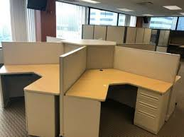 Image Daksh Ebay Pod Of Cubicles By Haworth Office Furniture 48
