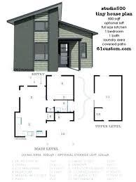 modern loft floor plans mini house small two bedroom regarding design 10