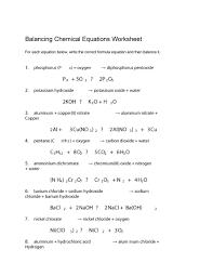 free balancing equations 31