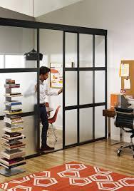 home office sliding glass room dividers