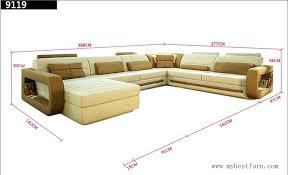 u sofa new design top grain cattle leather u shaped sofa sofar sounds nyc headquarters