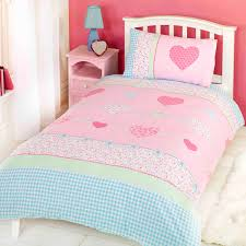 childrens duvet cover set with a gingham design this little intended for brilliant home girls duvet covers plan