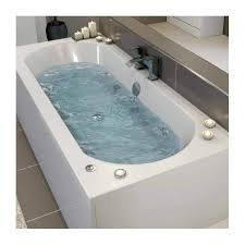 ceramica double ended curved whirlpool bath