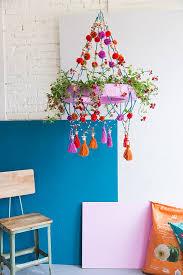 polish chandelier planter
