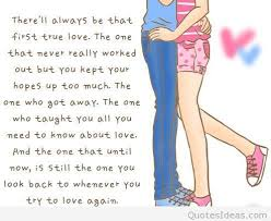 Love Cartoon With Couple Quote Adorable Cartoon Images Of Love Quotes