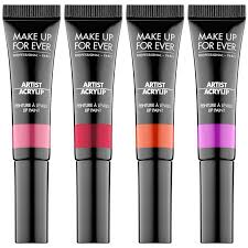 make up for ever artist acrylip or l oreal infallible lip paints