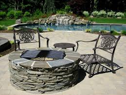 Stacked Stone Fire Pit superb blue stone fire pit part 6 fire pit w bluestone cap 3689 by xevi.us