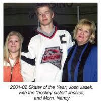 Image result for photo of josh jasek las vegas hockey