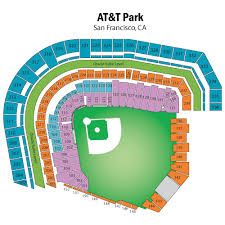 Breakdown Of The Oracle Park Seating Chart San Francisco