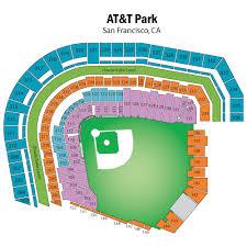 San Francisco Stadium Seating Chart Breakdown Of The Oracle Park Seating Chart San Francisco