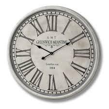 oversized harbeson 80cm wall clock