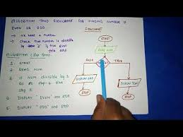 Prime And Odd Numbers Chart Algorithm And Flowchart To Find A Number Is Odd Or Even By