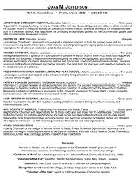 Hospital Volunteer Resume Example Inspiration Resume For Hospital Job