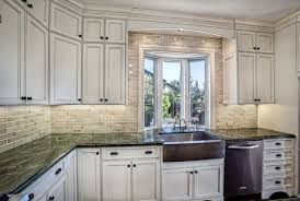 Dark Granite Colors For White Kitchen Cabinet Design Ideas