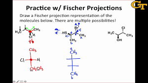 Practice With Fischer Projections