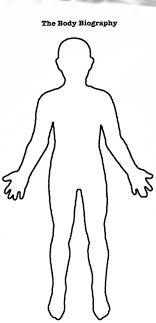 Human Body Outline Clipart