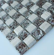 stone and glass mosaic tile ice ed glasarble glass stone mosaic tile