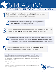 5 reasons the church needs youth ministry youth specialties here s a handy image all 5 broken down if you d like to share it your youth leaders