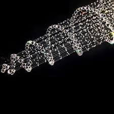 7 of 12 k9 crystal chandelier spiral clear crystal glass droplet ceiling light bulbs