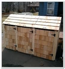 outdoor garbage can storage bin outdoor garbage can storage outdoor garbage storage bins