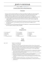 Hr Assistant Resume Example Inspiration Web Design Hr Resume Skills