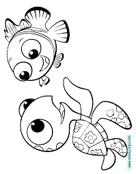 Finding Nemo Coloring Finding Nemo Coloring Page 5 4523 Free
