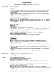 Painter Resume Painter Resume Samples Velvet Jobs 3